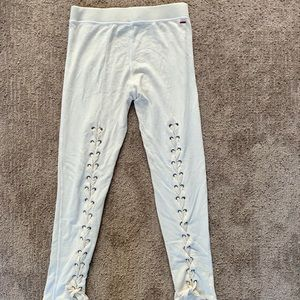n:Philanthropy  lace back relaxed  joggers M